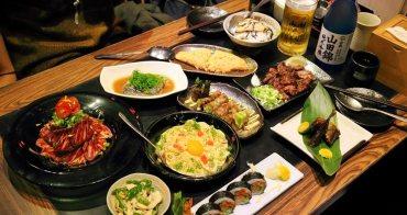 【台南美食】壺川居酒屋(串燒、日料):日籍主廚,料理種類多樣好吃,連日本人都愛,夜晚聚餐小酌推薦~