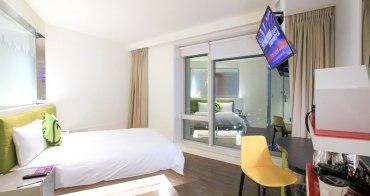 【台中逢甲住宿】台中Hotel 7:逢甲夜市旁的質感設計旅店,有停車場,房價平實高CP