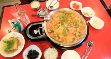 【首爾東大門美食】挪夫部隊鍋:東大門逛街必吃,熱熱辣辣的部隊鍋太美味|有中文服務