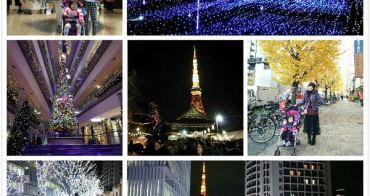 2015~2016東京京都大阪聖誕跨年親子自由行39日(一個月)行程規劃