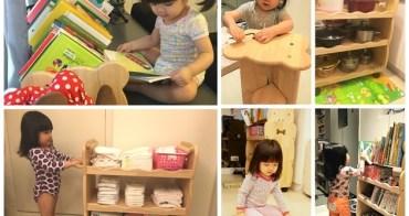 [育兒好物] 實用性超高的MesaSilla台灣實木傢俱~大豬兒自主書畫架+多功能自主收納推車
