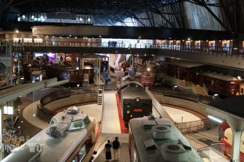 大宮鐵道博物館,鐵道迷必訪,體驗開迷你電車超好玩~東京親子景點