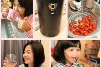 3M PW3000智選純水機,即開即飲的RO純淨好水,讓大人跟小孩都愛上喝水