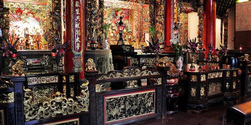 台北中山景點   台北市景福宮 原是一座兩坪大的土地公廟