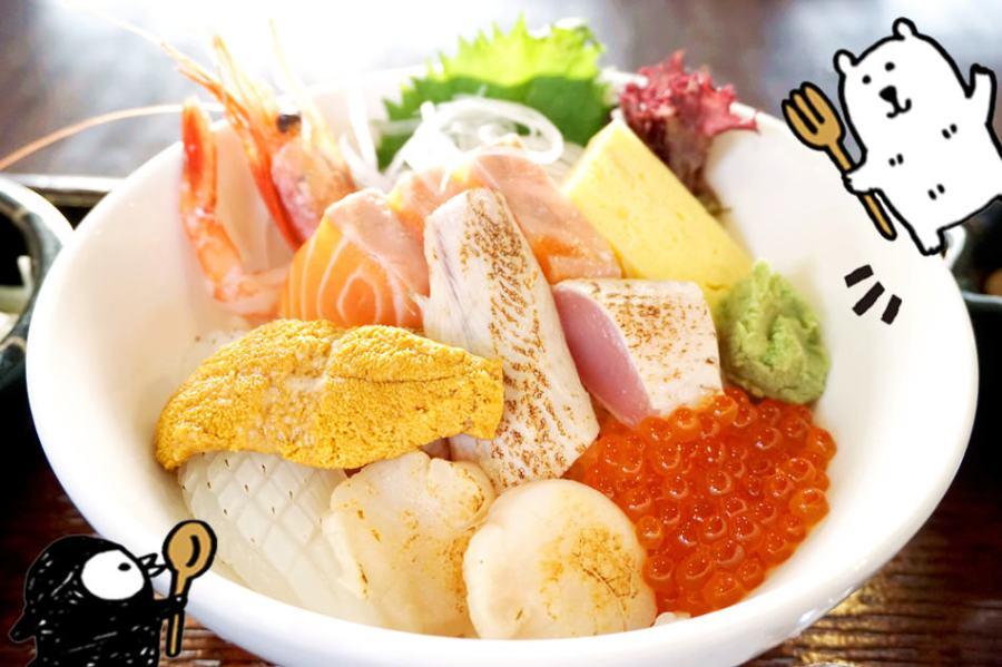 新竹市美食   中山道 妻籠宿 日本料理定食 多款丼飯任君挑選 免費停車場