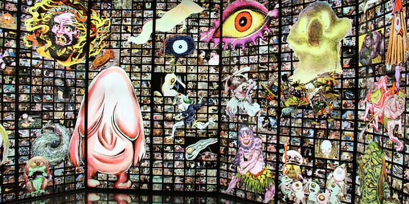 捷運忠孝新生站景點 | 鬼太郎的妖怪樂園 請注意 日本妖怪入侵華山 鬼太郎樂園來了