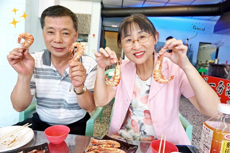 新竹北區美食   第一夯海鮮燒物 平價烤海鮮 烤鮮蚵每盤只要100元