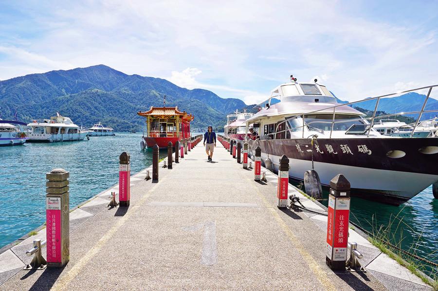 南投魚池景點【日月潭水社碼頭】遊湖的起點!水社步道
