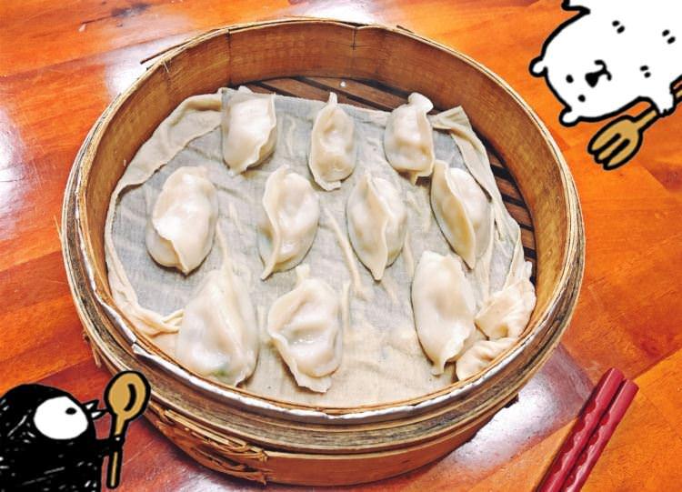 台中西區美食 | 八通蒸餃 精誠路美食 45年的老字號 台灣傳統小吃