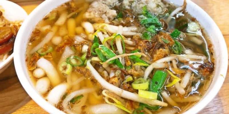 台中西區美食 高雄鹹米苔目 1985年古早味 向上市場 中美街小吃 滷味切料應有盡有 下班宵夜覓食好選擇