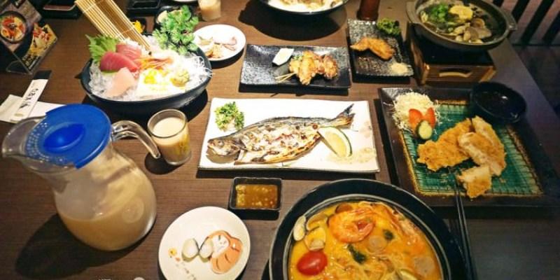 台中西區美食 大間町 和食 深夜食堂 宵夜時光也能品嚐到日本料理 夜貓子好去處 夜間部對面 異國創意拉麵 串燒 喝酒小酌 素食 精誠路餐廳 聚餐聚會首選