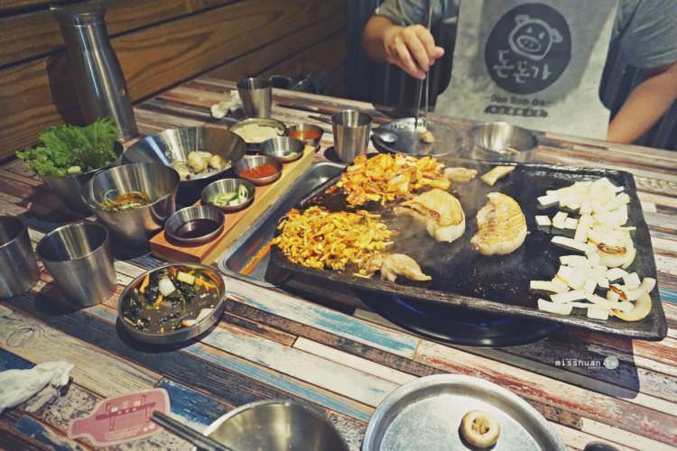 台中西屯美食 咚咚家 韓式豬肉專賣 DonDonGa 돈돈가 台中旗艦店 正宗韓式炭火烤肉 大口吃肉大口喝酒 朝富路聚餐聚會餐廳首選