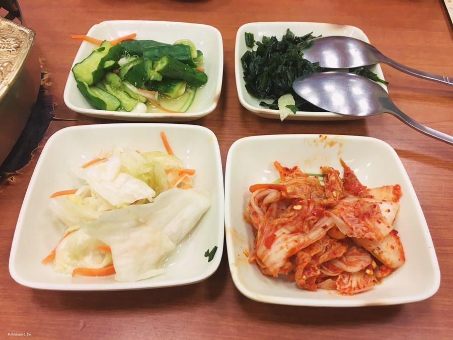 台中西區美食 韓香亭 精緻韓國料理吃到飽 套餐組合 泡菜火鍋 海鮮煎餅 銅盤烤肉 忠明南路 公益路 勤美周邊餐廳
