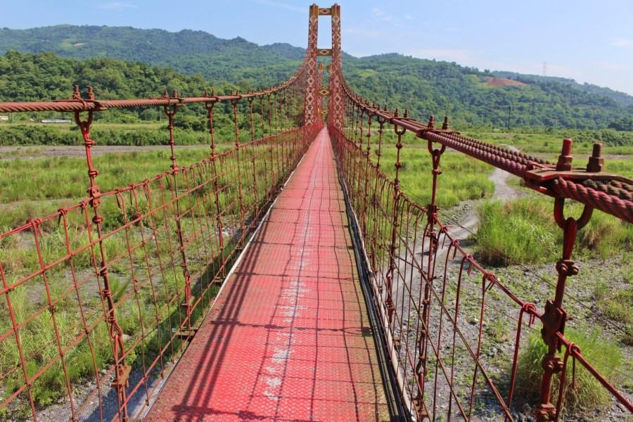 宜蘭大同景點 寒溪吊橋 親子同遊 老少咸宜 大自然生態之美