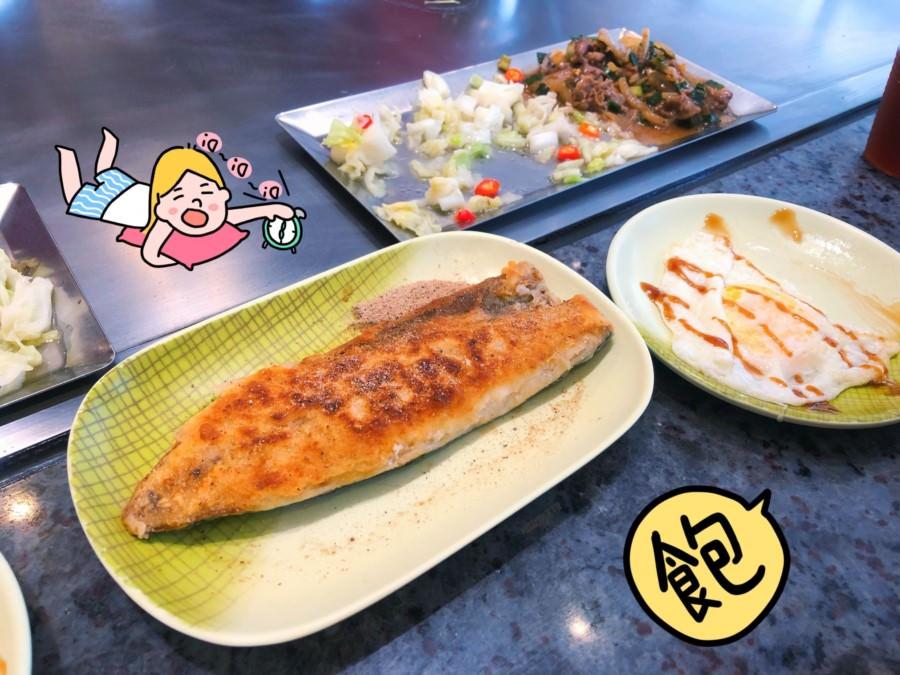 台中潭子美食 漢林鐵板燒 平價料理 飲料熱湯無限暢飲 服務親切 潭子運動公園
