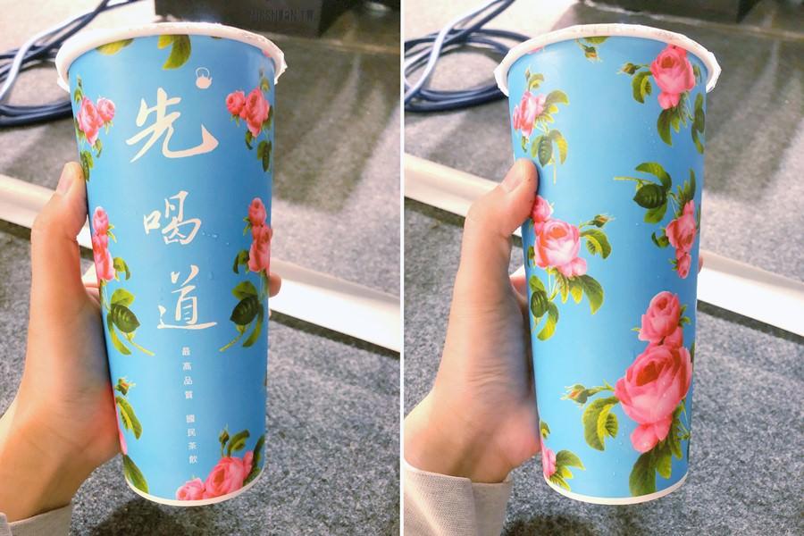 台中北區美食 先喝道 古典玫瑰園集團最新手搖茶品牌 一中街中友百貨1F 從西方文化走到東方茶飲