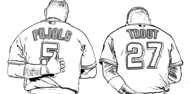 14 days until Spring Training: Let these printable Angels coloring