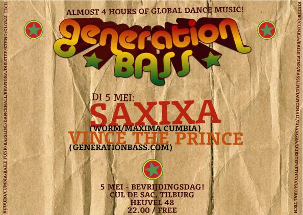 Generation Bass - May 5th