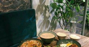 六張犁站美食|Santal 29:意外好吃!韓式咖啡廳吃創意泰式料理,不限時聚會餐廳@捷運六張犁站美食