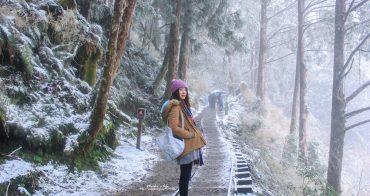 宜蘭太平山一日遊|2018太平山下雪!不用雪鏈 一日來回賞雪趣 見晴懷古步道