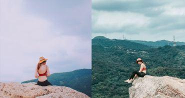 台北內湖爬山步道 金面山剪刀石:IG網美景點,手腳並用攀岩@捷運西湖站