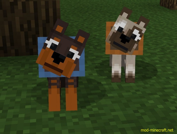 More Dogs Mod Minecraft