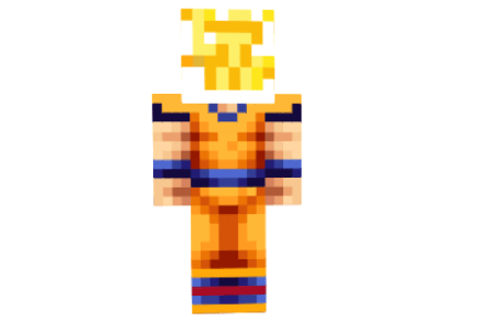 Skin De Minecraft De Goku Path Decorations Pictures Full Path - Skins para minecraft pe de goku