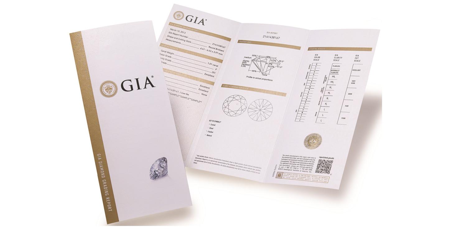 GIA證書怎麼看?一篇搞懂5種證書和區分真偽