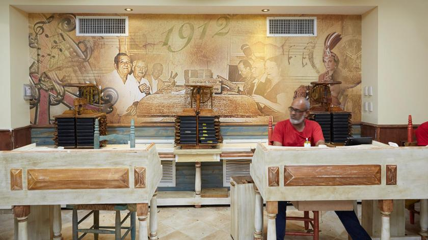 inside one of the new Fuente factory's rolling rooms
