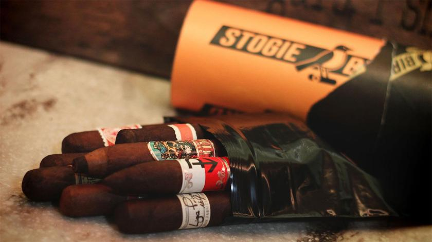 A selection of cigars from Stogiebird.