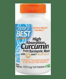 DOCTOR'S BEST High Absorption Curcumin 1000mg 120 tab.