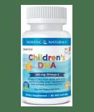 NORDIC NATURALS Children's DHA 250mg 90 softgels