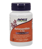 NOW FOODS Astaxanthin 4mg 60 softgels