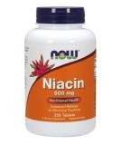 NOW FOODS Niacin 500mg 250 tab.