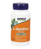 NOW FOODS L-OptiZinc 30mg 100 kaps.