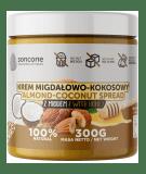 SONCONE Krem migdałowo-kokosowy z miodem 300g