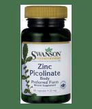 SWANSON Zinc Picolinate 22mg 60 kaps.
