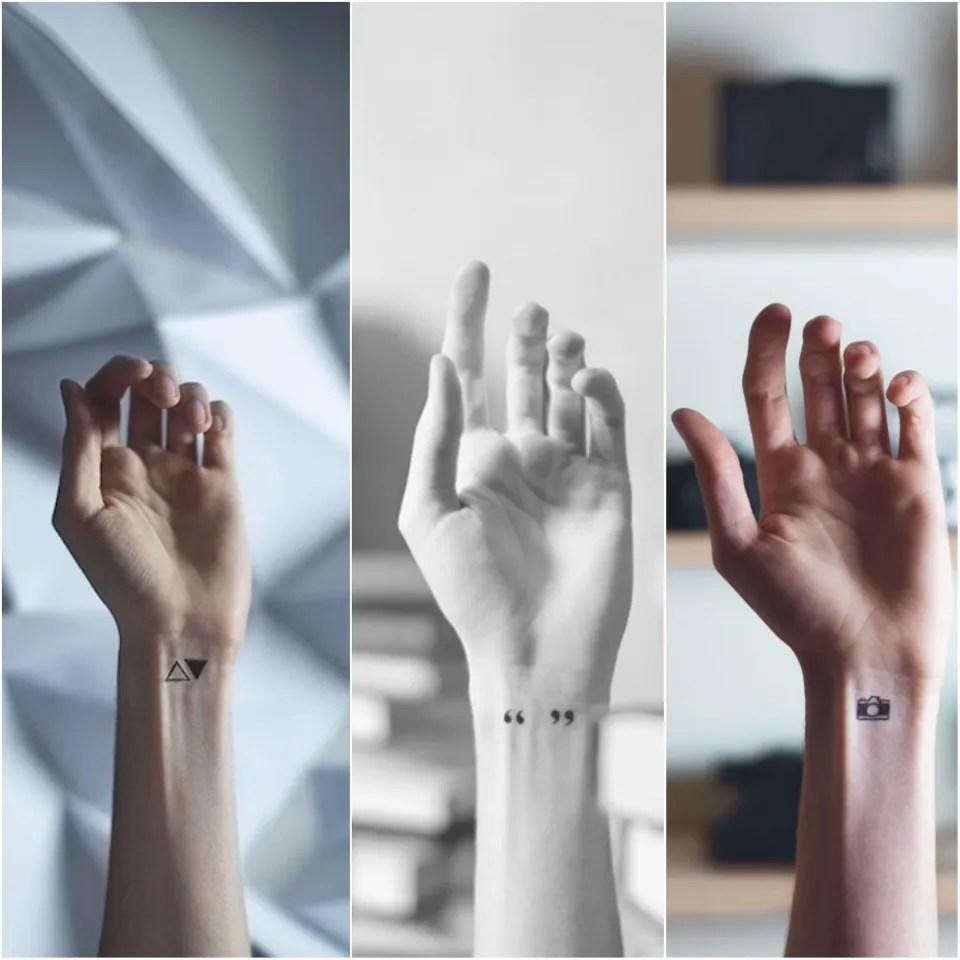 5 идей для микро тату музыка первого