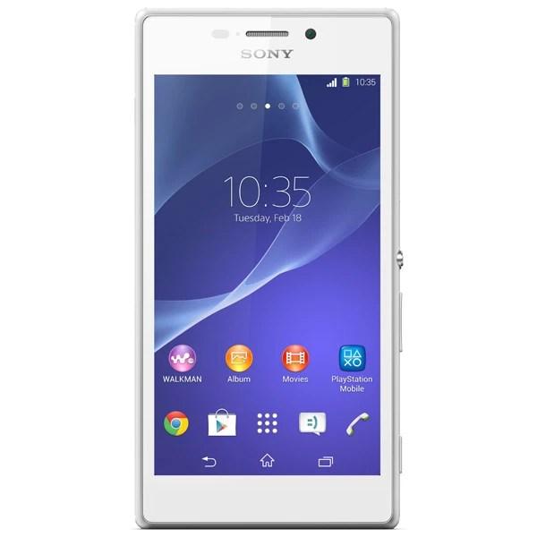 Смартфон Sony Xperia M2 D2303 White