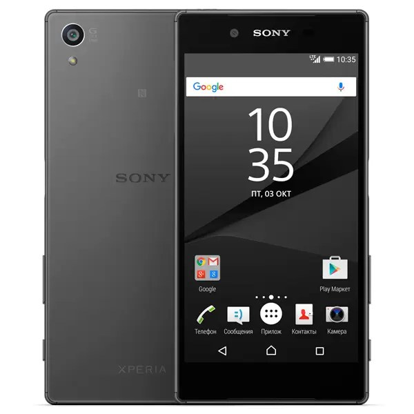 Смартфон Sony Xperia Z5 E6653 Graphite Black
