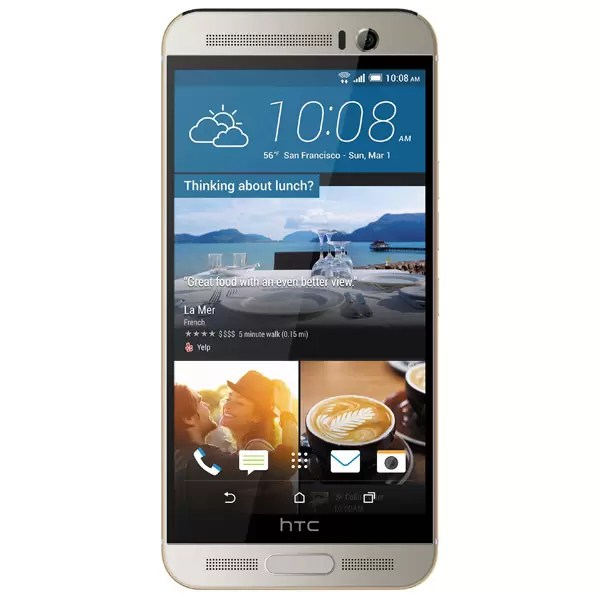 Смартфон HTC One M9+ Gold on Silver