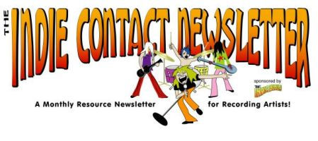 Indie Contact Newsletter: 43 Places to Promote Your Music – January 2010