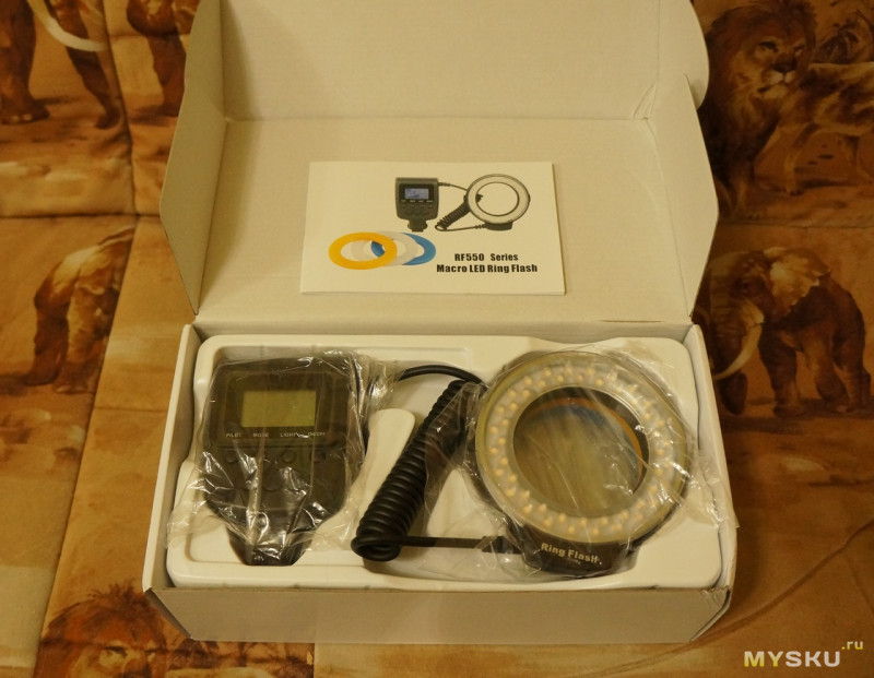 Universal Macro Flash Diffuser Fits On The Lens Thread Diameter 58mm Basic