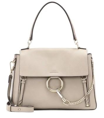 Medium Faye Day leather shoulder bag