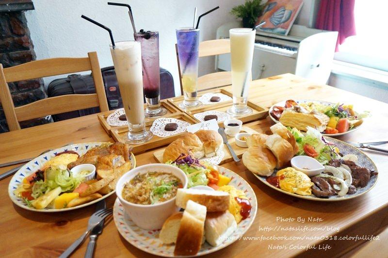 【美食♔台南中西區】MUMU小客廳。夏日新菜單上市!C/P值頗高的早午餐~餐點頗豐富且平價美味,是聊天談心事好地方。鄰近孔廟文化園區、延平郡王祠