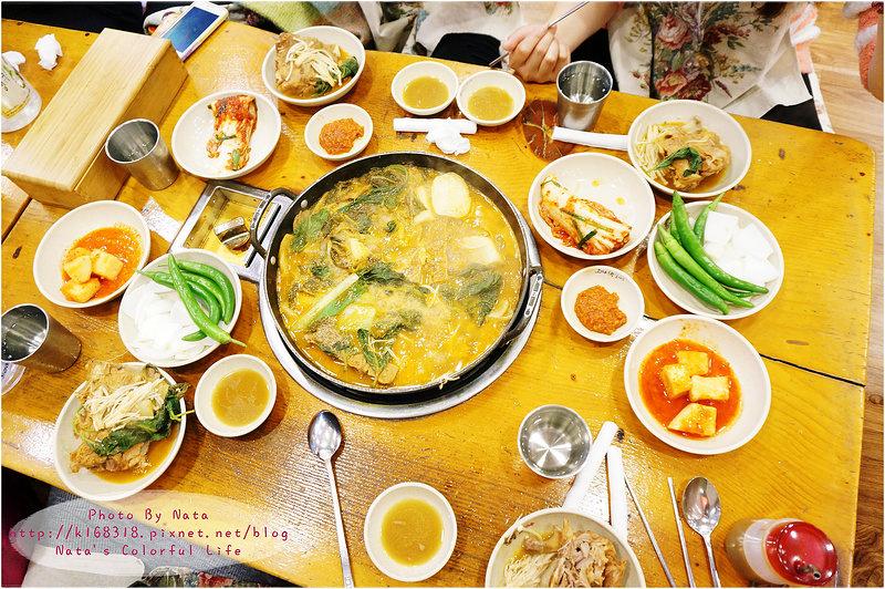 【旅遊✈KOREA】2015櫻在首爾*東廟站‧豬肉馬鈴薯湯。24小時營業~無時無刻都想要吃的解酒湯