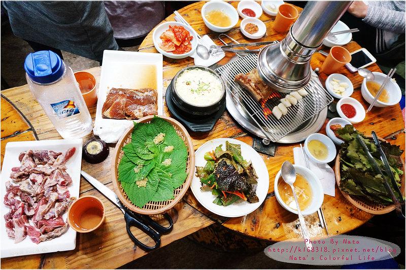【旅遊✈KOREA】2015櫻在首爾*永登浦市場站‧黃家鰻魚君 황가네 꼼장군(CNblue敏赫阿爸的烤肉店)。讓人朝思暮想的豬王排骨~絕對要去嘗鮮!