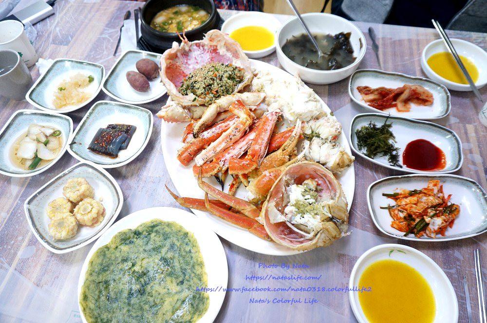 釜山機張市場美食│東海水產&大蟹동해수산&대게。帝王蟹肥美又甘甜
