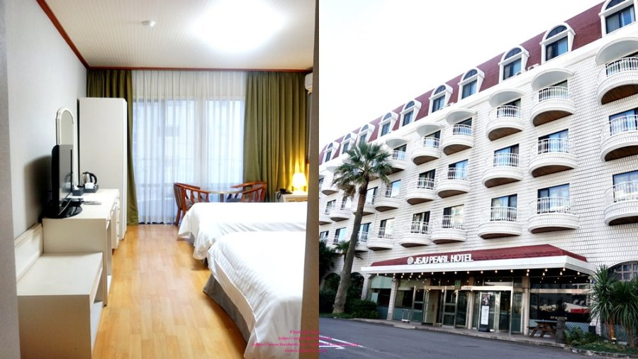 濟州蓮洞住宿推薦│Pearl Hotel Jeju濟州珍珠酒店。近蓮洞購物商圈,新羅免稅店、EMART、樂天超市,附中西韓式早餐