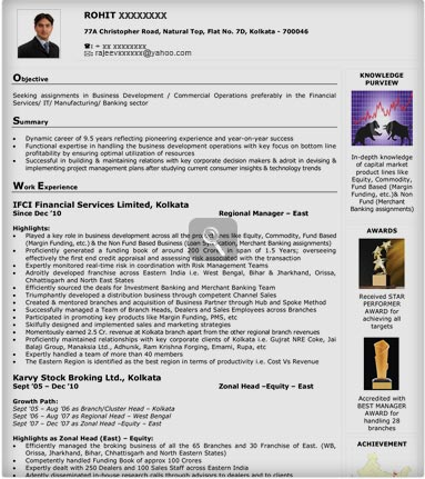 For Resumes In Naukri. resume for first job resume writing ...